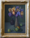 Irises and Apples